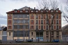 Usine électrique -  132 Quai de Jemmapes, Paris, France.