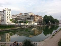 Usine électrique -  canal Saint-Martin, 132 quai de Jemmapes,  Paris