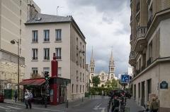 Eglise Saint-Ambroise -  Ce café s'appelle