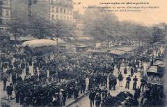 Métropolitain, station Couronnes -