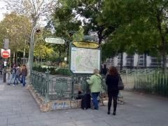 Métropolitain, station Richard-Lenoir -  Richard Lenoir (Paris Metro)