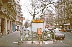 Métropolitain, station Saint-Maur - English: entrance Metrostation Saint Maur, Paris