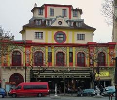 Ancien café-concert Le Bataclan -  Bataclan theater, Paris, France.