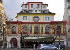 Ancien café-concert Le Bataclan - English: Bataclan theater, Paris, France.