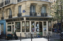 Boulangerie - English: Old bakery at Émilio-Castelar street and Charenton street in Paris.