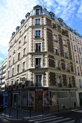 Boulangerie - English: Building with old bakery at 19 Montgallet street in Paris.
