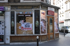 Boulangerie - English: Old bakery at 19 Montgallet street in Paris.