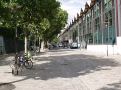 Chais et entrepôts de Bercy - Bercy Village à Paris (France)