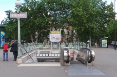 Métropolitain, station Daumesnil -  Station de métro Daumesnil, lignes 6 et 8 du métro de Paris - Paris, France