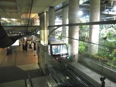 Métropolitain, station Gare de Lyon -  Metro de Paris Ligne 14 Station Gare de Lyon  Lieu: Paris, France Date: juin 2006 Auteur:  Pli!ne photo personnelle