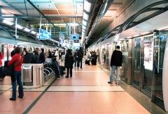 Métropolitain, station Gare de Lyon -  Métro - Ligne M14