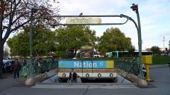 Métropolitain, station Nation -  Nation (Paris Metro)