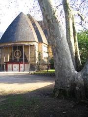 Ancien musée du Bois, actuellement Institut International Bouddhique -  Pagode du Lac Daumesnil - Bois de Vincennes - France