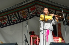 Ancien musée du Bois, actuellement Institut International Bouddhique -  Nawang Khechog at the fr:Festival culturel du Tibet et des peuples de l'Himalaya,  19 September 2004, 5e Festival du Tibet à Vincennes
