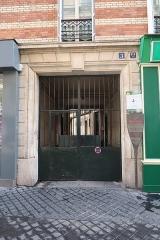 Maison - Français:   Panneau Histoire de Paris en hommage à la Grande maison des Gobelins, 3 bis rue des Gobelins (Paris, 13e).