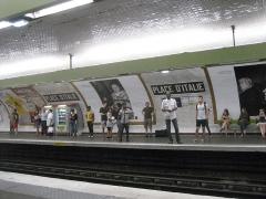 Métropolitain, station Place d'Italie - English: Place d'Italie (Paris Metro line 7)