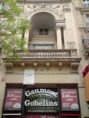 Théâtre des Gobelins  , actuellement cinéma Fauvette -  Gaumont Gobelins, Paris, France.