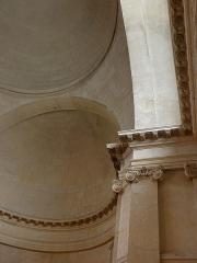 Ancienne abbaye de Port-Royal, actuel Hôpital Cochin - Intérieur de l'église abbatiale Saint-Sacrement de l'abbaye de Port-Royal de Paris (75014).