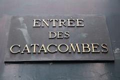 Barrière d'Enfer -  Entering the Paris Catacombes