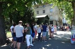 Barrière d'Enfer -  Huge line @ Catacombes @ Denfert Rochereau @ Paris