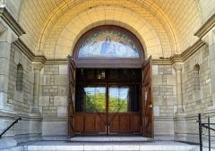 Eglise Notre-Dame-du-Travail -  Entrée de Notre Dame Du Travail