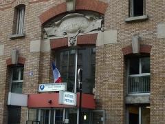 Hôpital Cochin (ancien noviciat des Capucins) -  Hôpital Cochin, entrée principale 27 rue du Faubourg-Saint-Jacques