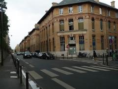 Hôpital Cochin (ancien noviciat des Capucins) -  Hôpital Cochin rue du Faubourg-Saint-Jacques