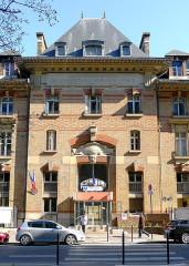 Hôpital Cochin (ancien noviciat des Capucins) - English: Cochin hospital - Paris