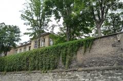 Hôtel de Massa, actuellement siège de la Société des Gens de Lettres -  Hôtel de Massa, vu de la rue du Faubourg Saint-Jacques