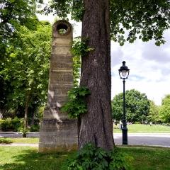Parc Montsouris -  Mire du Sud, Parc Montsouris, Paris.