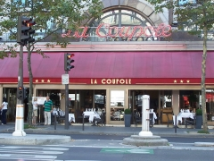 Restaurant La Coupole - English: View of the brasserie/restaurant La Coupole at boulevard du Montparnasse in Paris