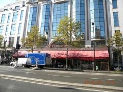 Restaurant La Coupole - English: La Coupole on Rue Montparnasse, Paris
