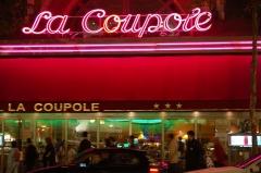 Restaurant La Coupole -  La Coupole, a bar in Paris, by night