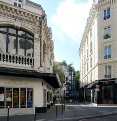Théâtre Montparnasse ; Théâtre Montparnasse-Gaston Baty - English: Larochelle street - Paris
