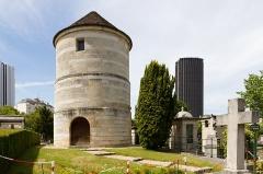 Cimetière Montparnasse -  Moulin de la Charité, Cimetière du Montparnasse.