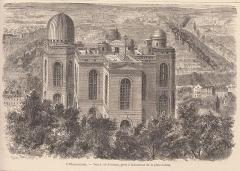 Observatoire de Paris - Vue de l'Observatoire de Paris.