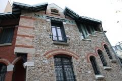 Hôtel Jassedé -   (Auteuil) Rue Chardon Lagache Private mansion. Arch. Hector Guimard  1893.