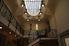 Ancien hôtel Mezzara - English: Hotel Mezzara (Paris XVI) vestibule