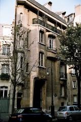 Ancien hôtel particulier d'Hector Guimard -  Hector Guimard's building.