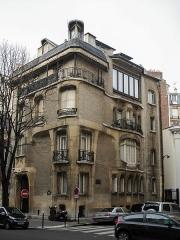 Ancien hôtel particulier d'Hector Guimard - Français:   Hôtel Guimard, 122 avenue Mozart - Paris