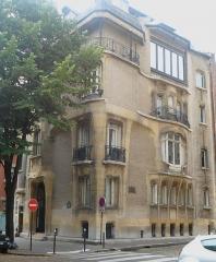 Ancien hôtel particulier d'Hector Guimard - Français:   Hôtel Guimard 1909