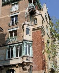 Immeuble dit Castel Béranger - Français:   Castel Béranger: Paris.