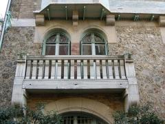 Immeuble dit Castel Béranger -  Balcony — Castel Béranger.