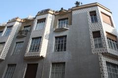Immeuble - Deutsch: Wohnhaus 21, rue des Perchamps in Paris (16. Arrondissement), Architekt: Henri Sauvage
