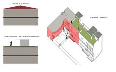 Villa La Roche, actuellement Fondation Le Corbusier - English: cubierta - jardin