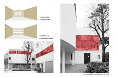 Villa La Roche, actuellement Fondation Le Corbusier - English: La ventana horizontal
