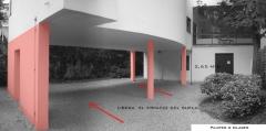 Villa La Roche, actuellement Fondation Le Corbusier - Español: Pilotes