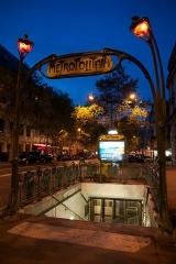 Métropolitain, station Boissière -  Boissière (Paris Metro)
