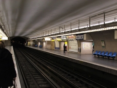 Métropolitain, station Kléber - English: Kléber - Paris Metro station