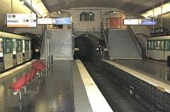 Métropolitain, station Porte-d'Auteuil - Français:   La station Porte d\'Auteuil du métro de Paris